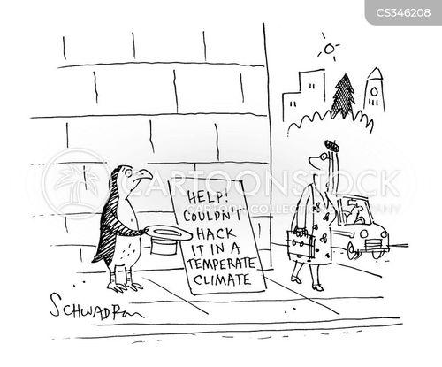 temperate climate cartoon