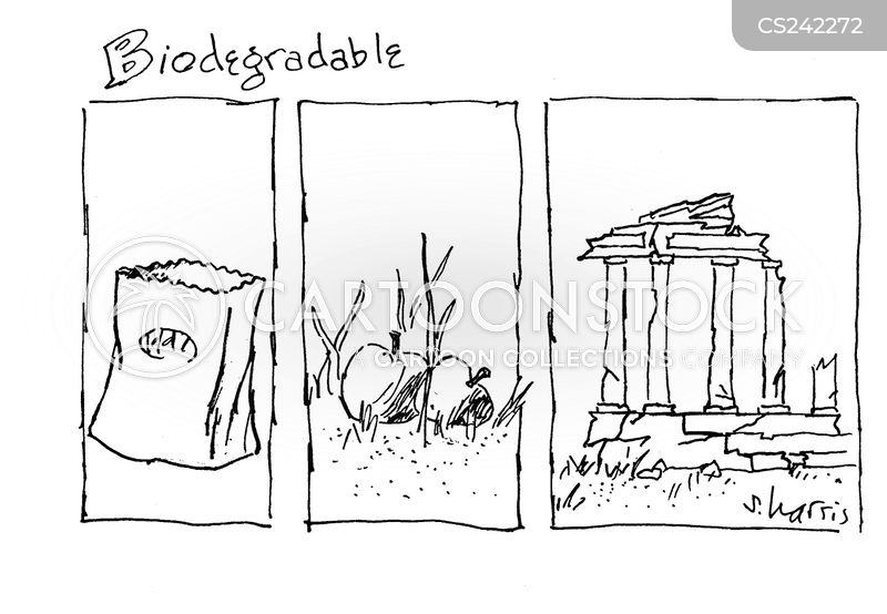 biodegradables cartoon