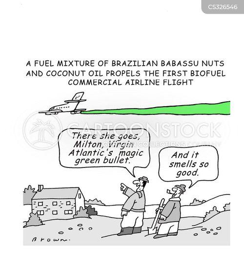 biofuel cartoon
