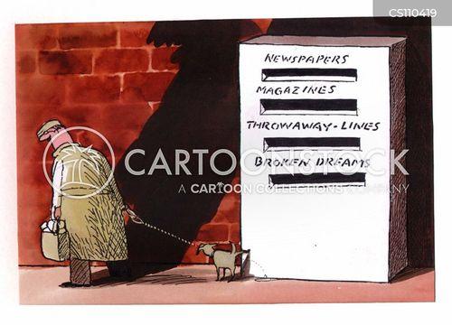 recycling bin cartoon