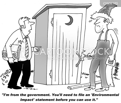 environmental impact statement cartoon