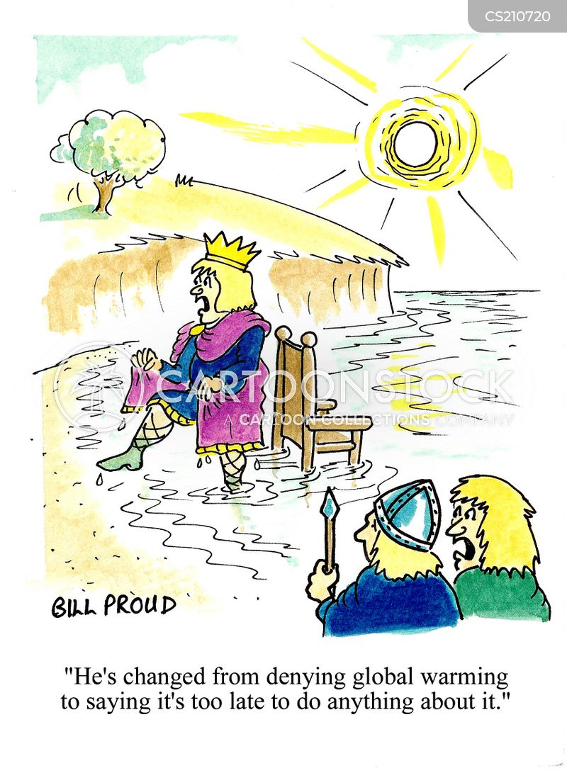 canute cartoon