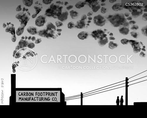 industrial pollutant cartoon