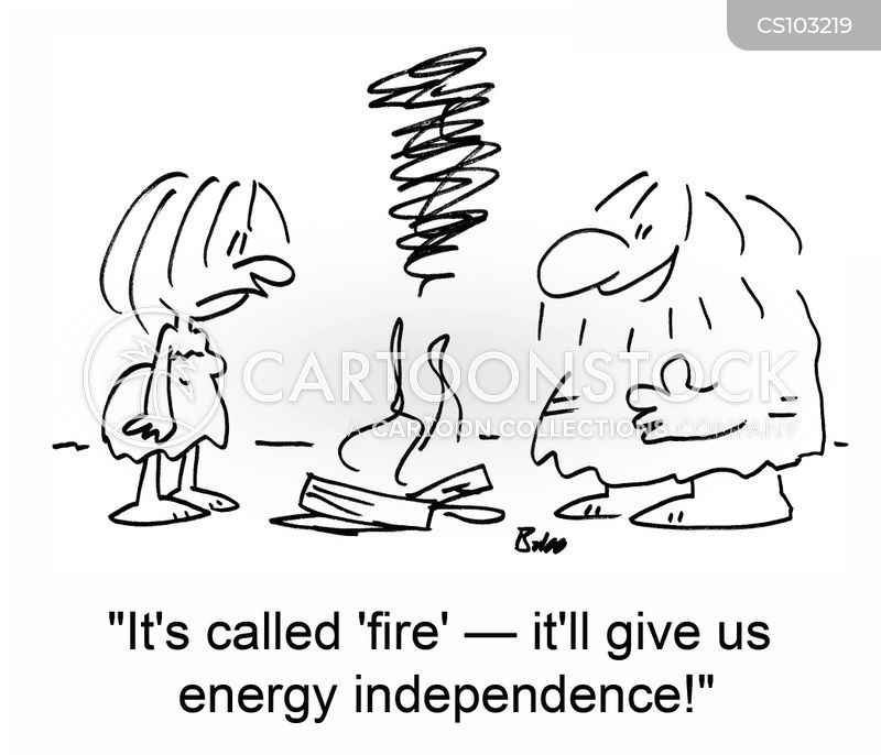 energy independence cartoon