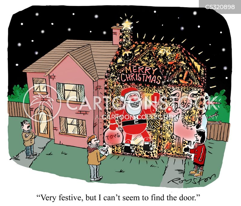 Tacky Lights Cartoons And Comics Funny Pictures From Cartoonstock