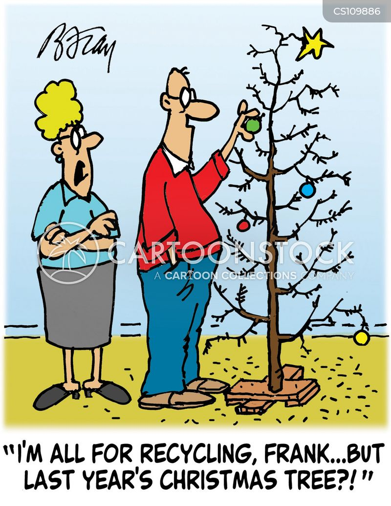 christmas decoration cartoon