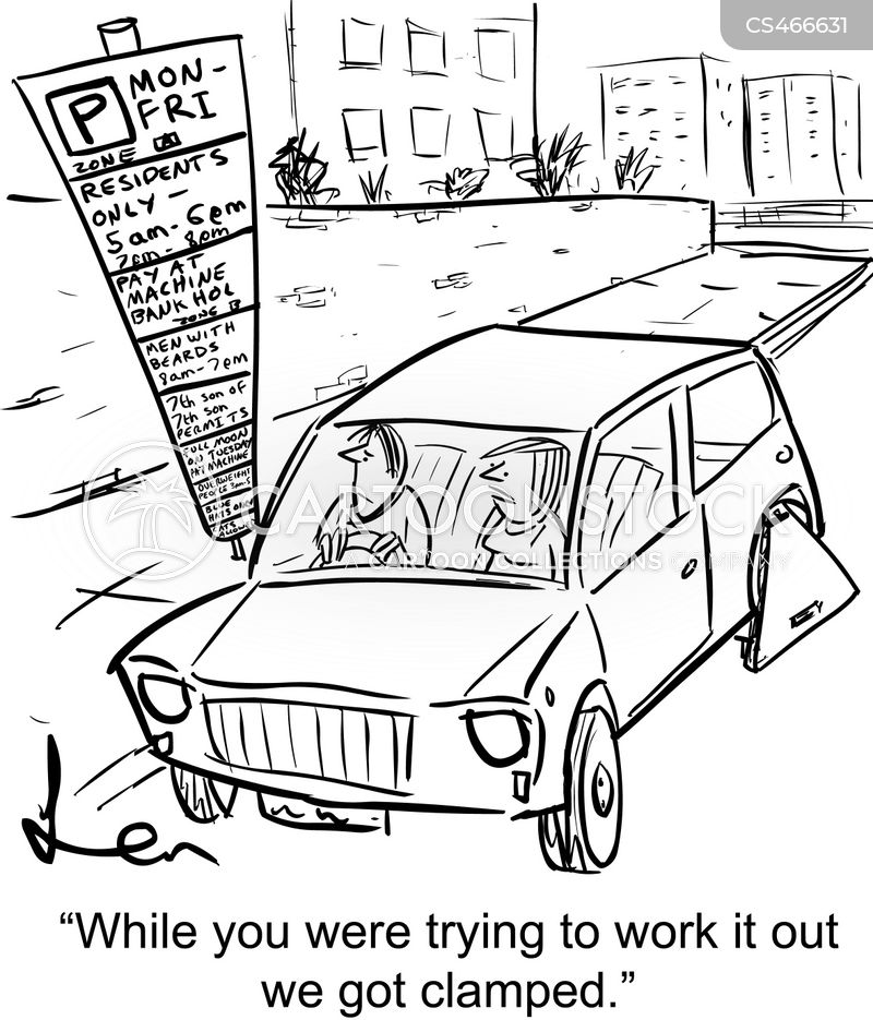 car-parks cartoon