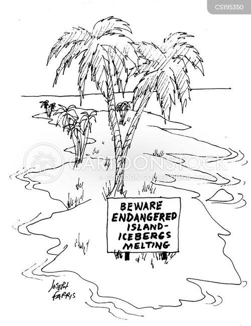 ice-cap cartoon