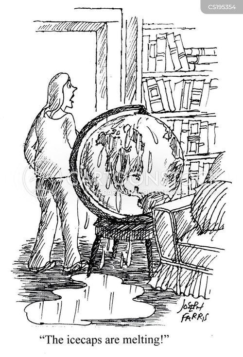 ice-caps cartoon