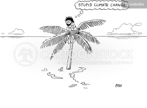 desert isle cartoon