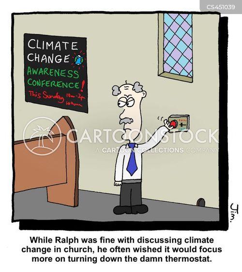 thermostat cartoon