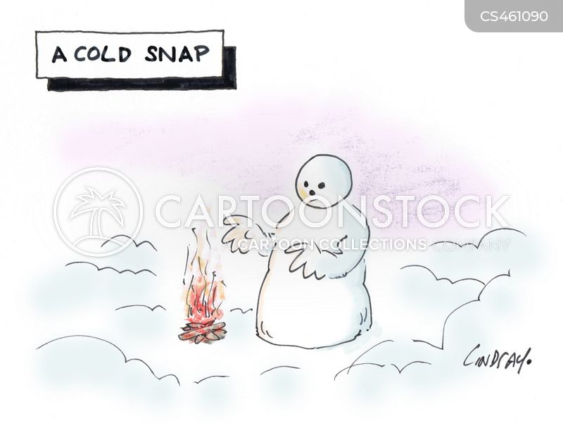 cold snaps cartoon
