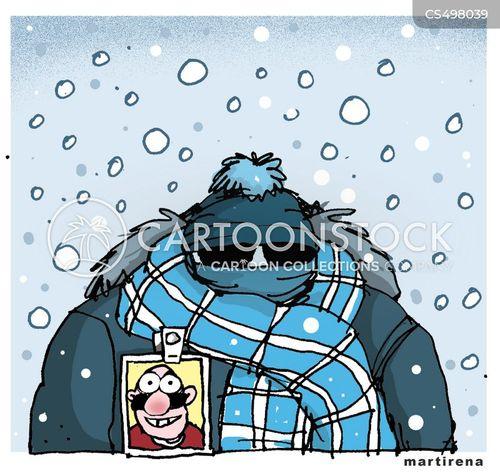 low temperature cartoon