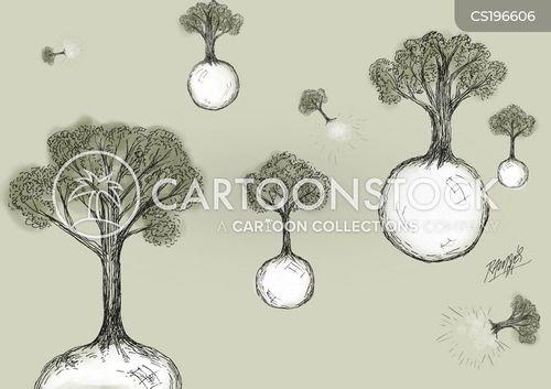 mother nature cartoon