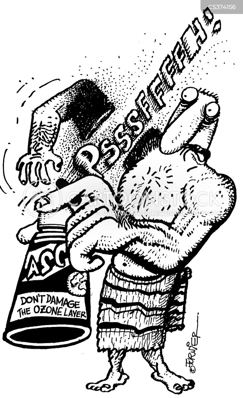 underarm deodorants cartoon