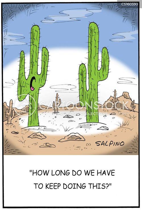 desert plants cartoon