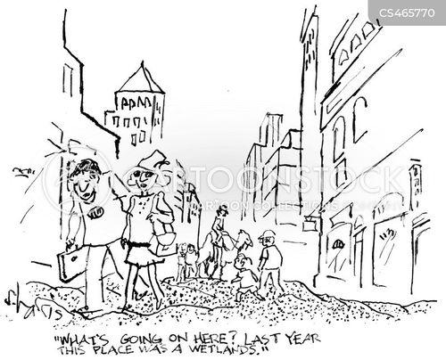 environmental changes cartoon