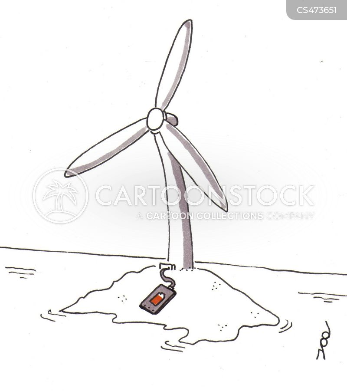 wind-farm cartoon