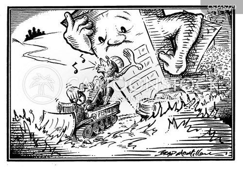 green belt cartoon