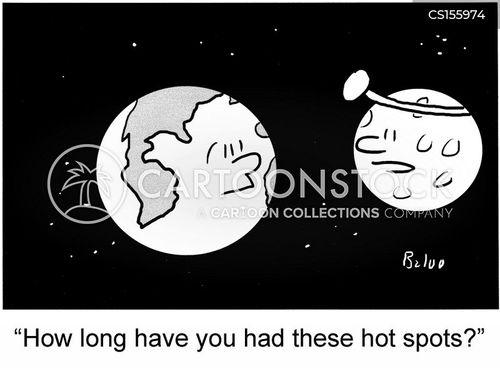 hot spots cartoon