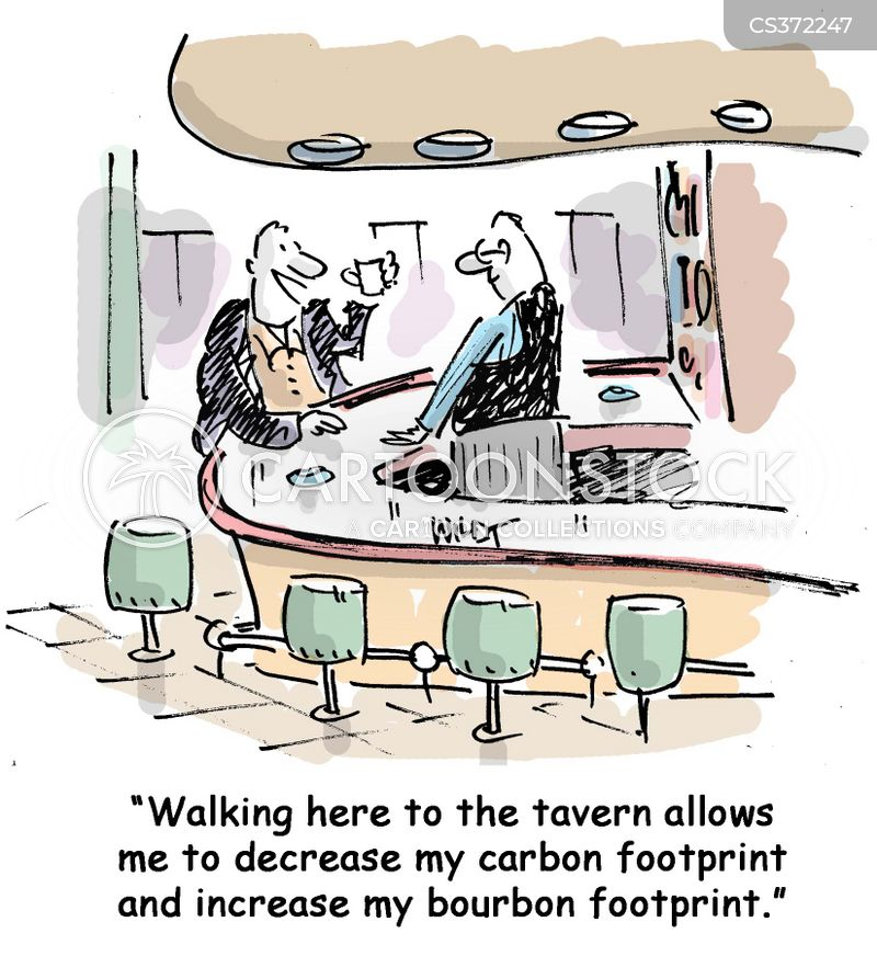 environmental footprint cartoon