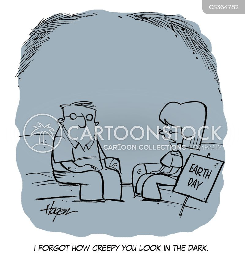 scariness cartoon