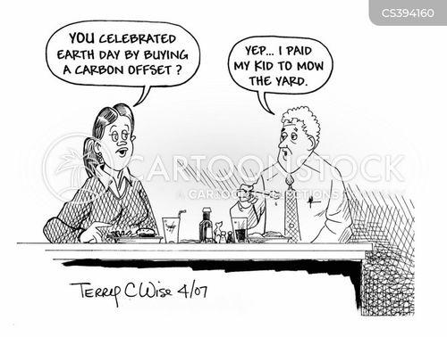 climate change sceptic cartoon