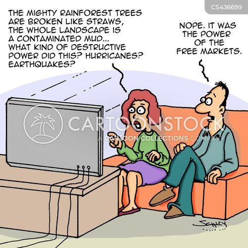 free markets cartoon