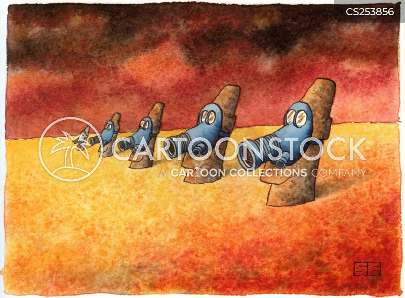 Gasmask Cartoons and Comics - funny pictures from CartoonStock  |Funny Cartoon Gas Mask