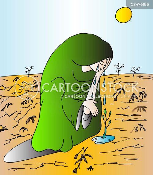 tearful cartoon