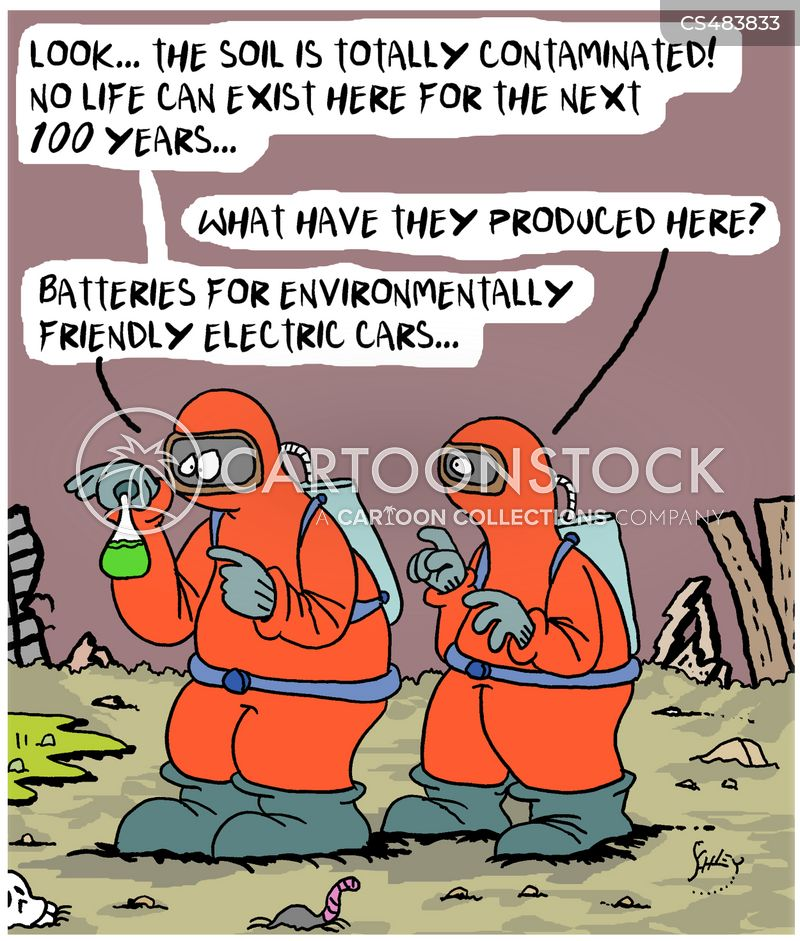 eco car cartoon