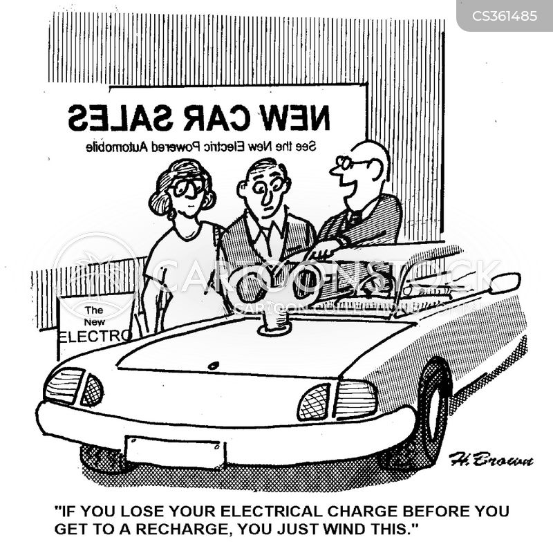 recharging station cartoon