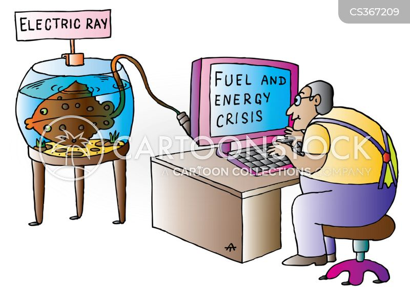 renewable energy source cartoon