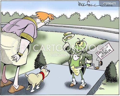 forest service cartoon