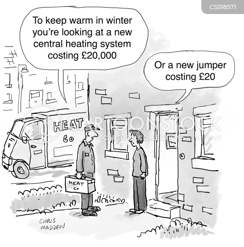 warm clothing cartoon