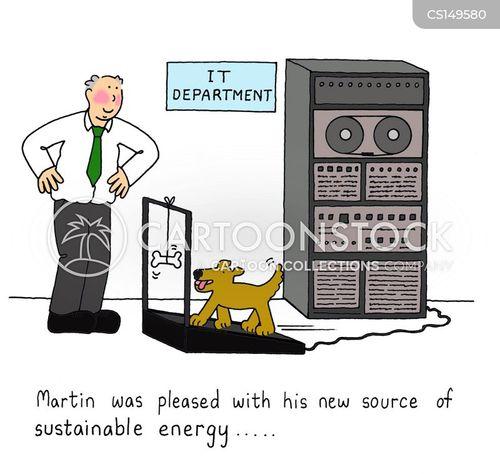 green fuels cartoon