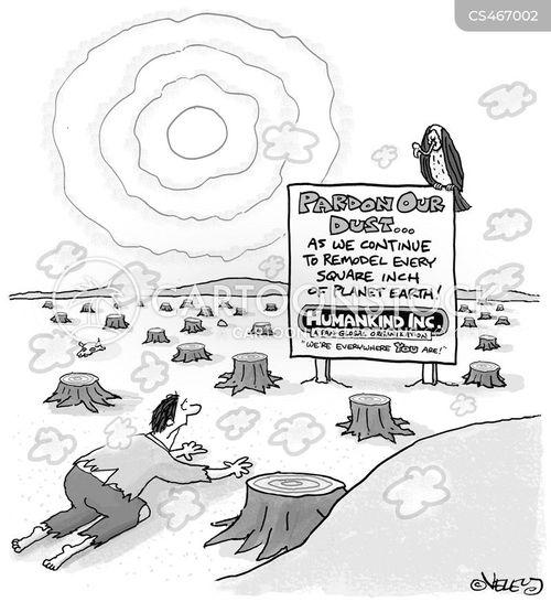 over-population cartoon