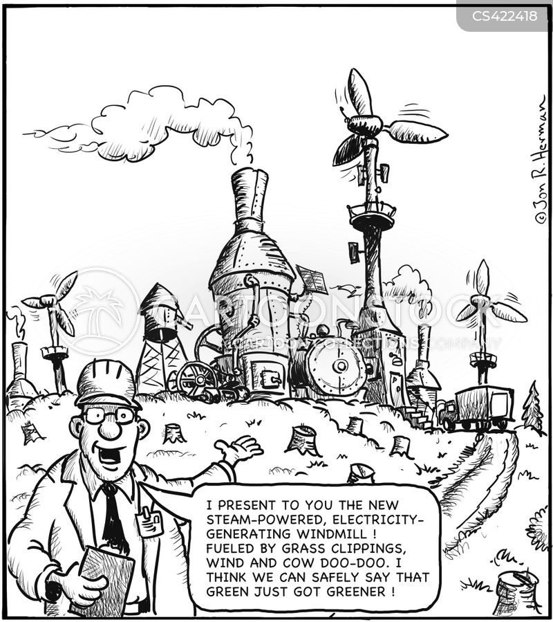 Green Technology Cartoons And Comics Funny Pictures From