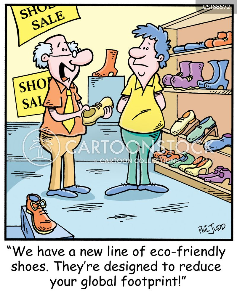 eco-friendly cartoon