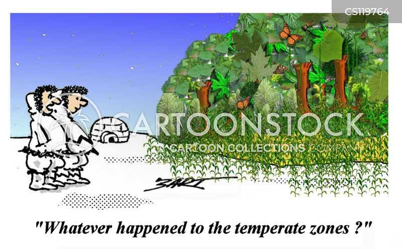temperate zone cartoon