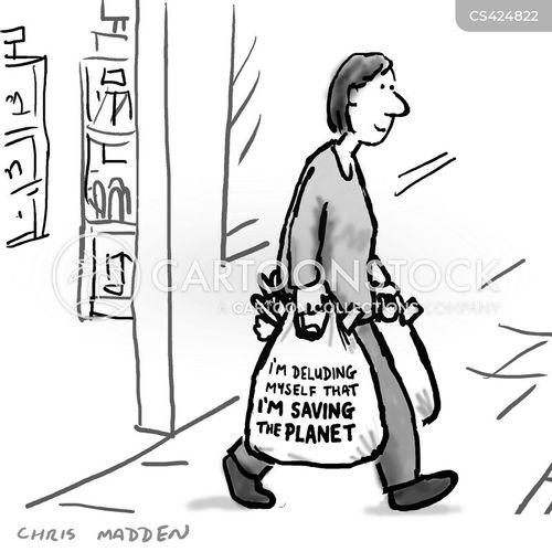carrier bags cartoon