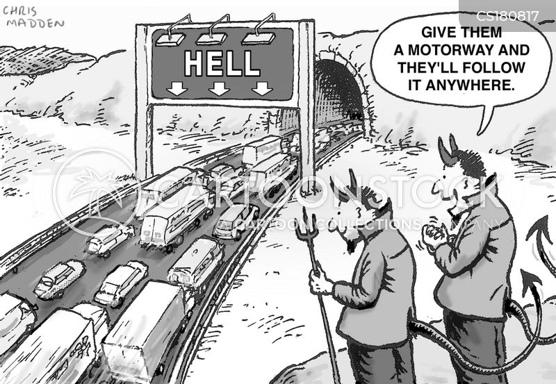 infrastructure cartoon
