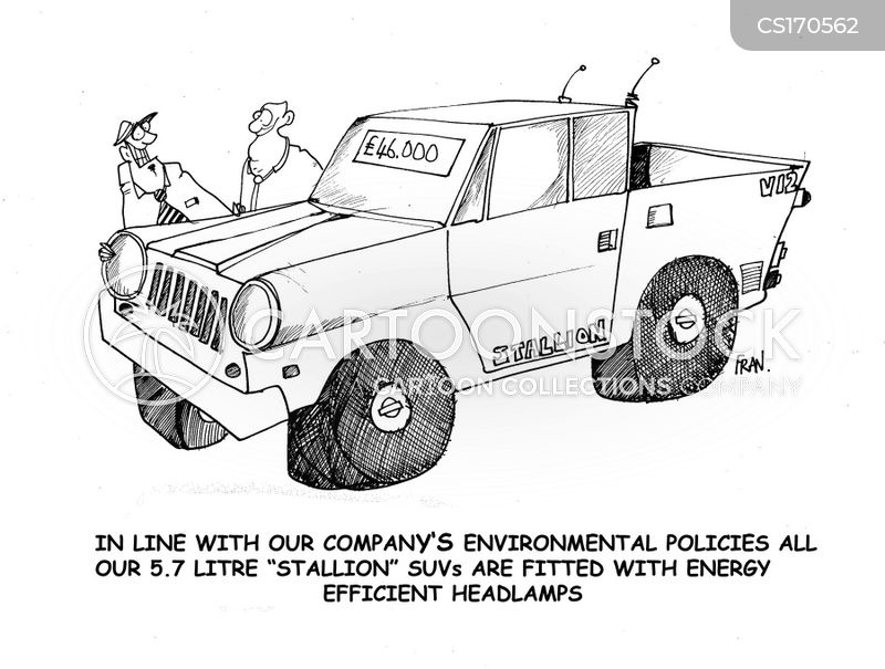 environmentally destructive cartoon