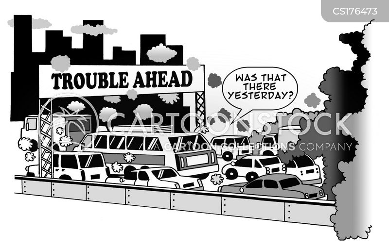 congested cartoon
