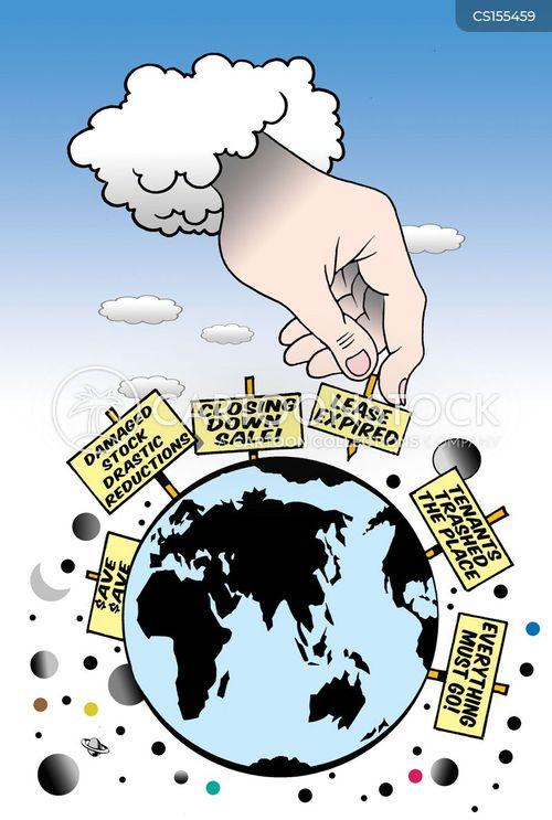 green policy cartoon