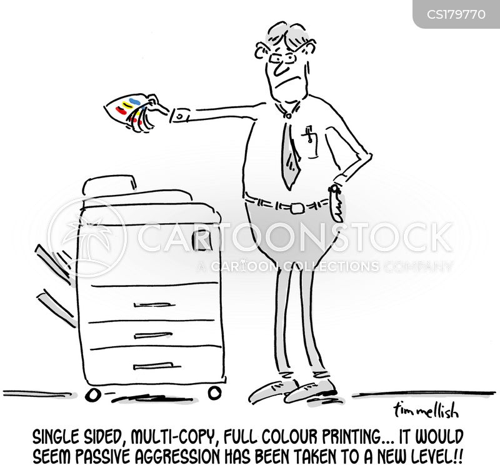 photocopiers cartoon