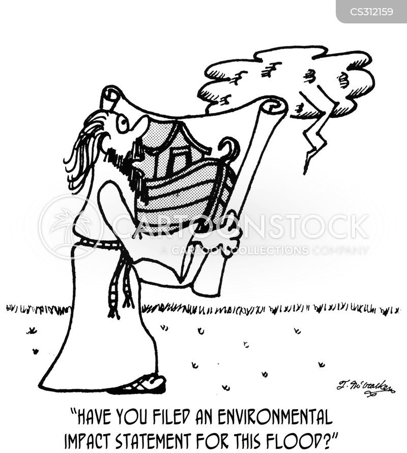 environmental impact statements cartoon