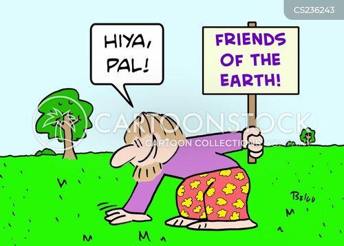 friends of the earth cartoon