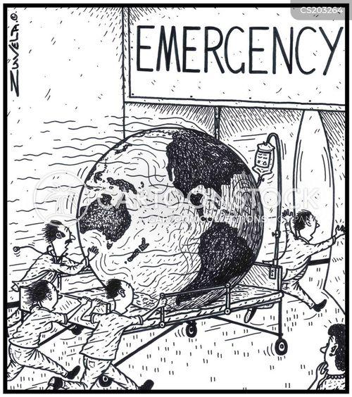 emergency rooms cartoon