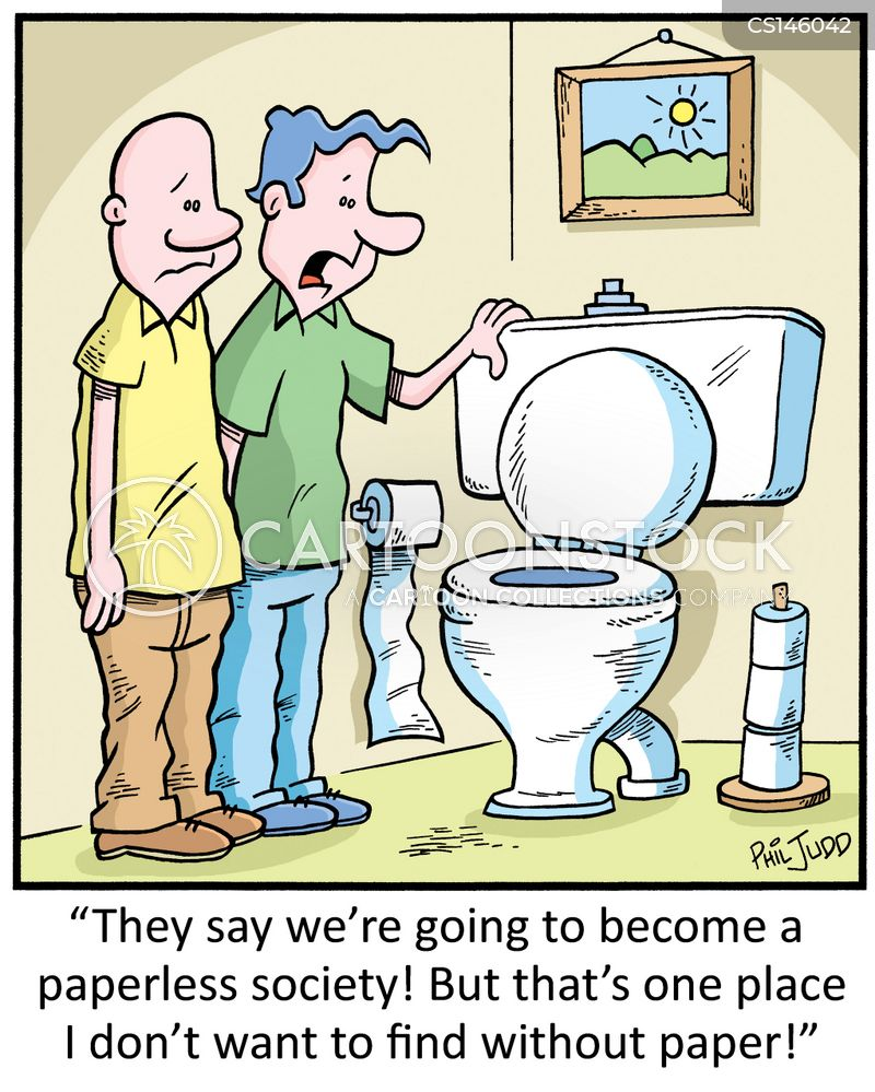 bog rolls cartoon